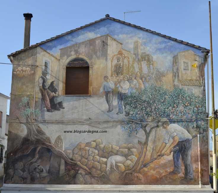 #Sardegna #Murales