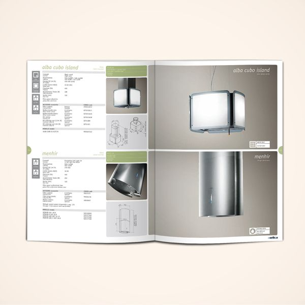 "Product catalogue 2012 / ""Air & light"" by Stefano Menconi, via Behance"