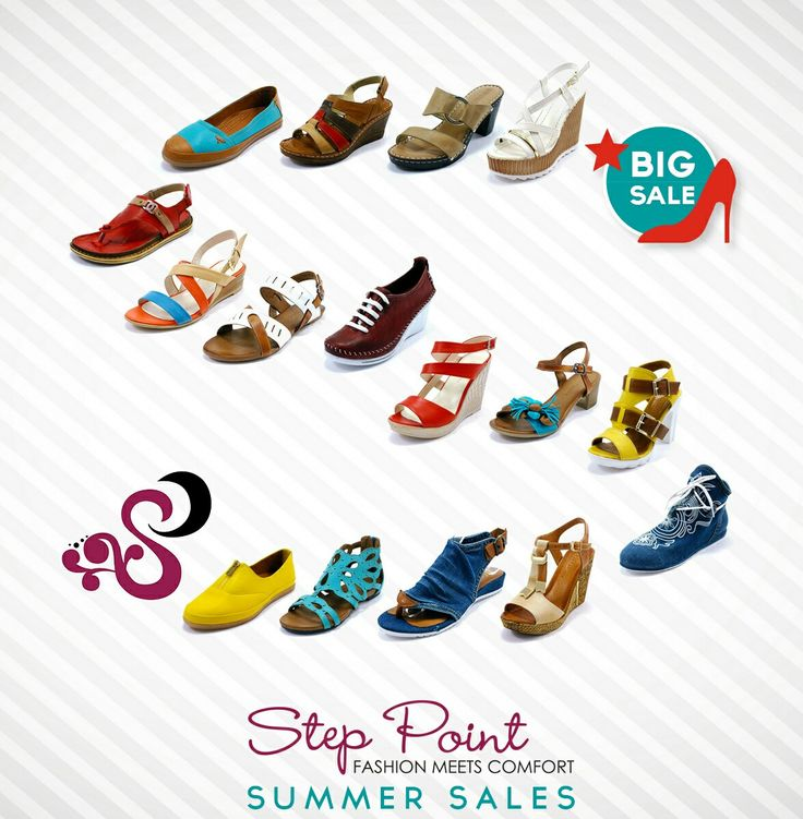 Step Point Summer Sales έως 40%  Www.step-point.gr