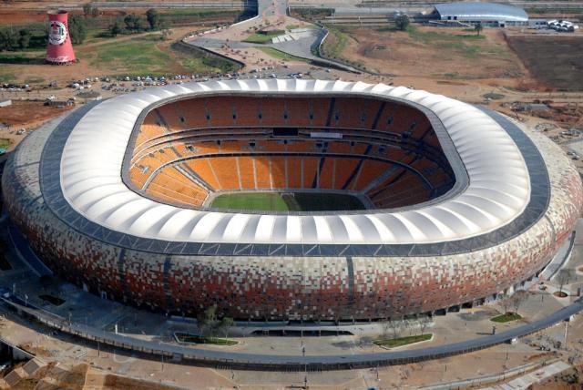 Soccer City Stadium Johannesburgo, Sudáfrica 94.700 espectadores