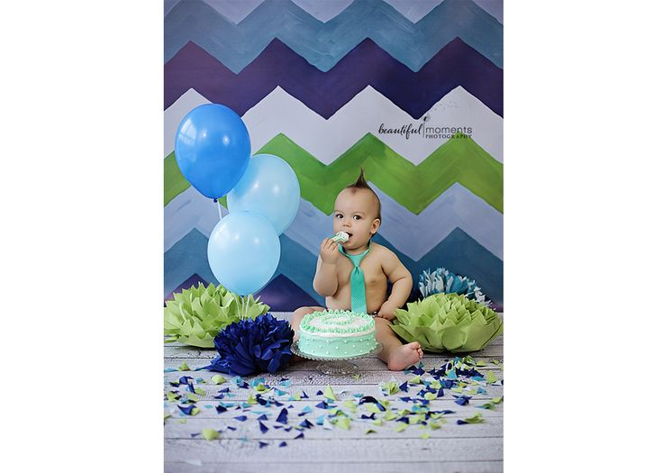 Beautiful Moments Photography - Stavanger Sandnes Ålgård Nyfødt Baby Fotograf #fotografstavanger #cakesmash #birthday #ballons #creamcake #green #blue