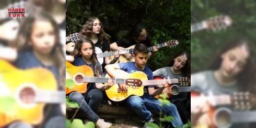 Çayelili gençler çaldı, dünya izledi!: Yaşları 9 ile 13 arasında Çayelili gençlerin video klip haline getirdiği parçalar, internette izlenme rekorları kırıyor