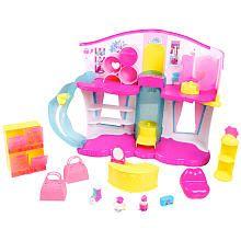 Aunt Andrea bought for Prez! Shopkins Season 3 Fashion Boutique Playset