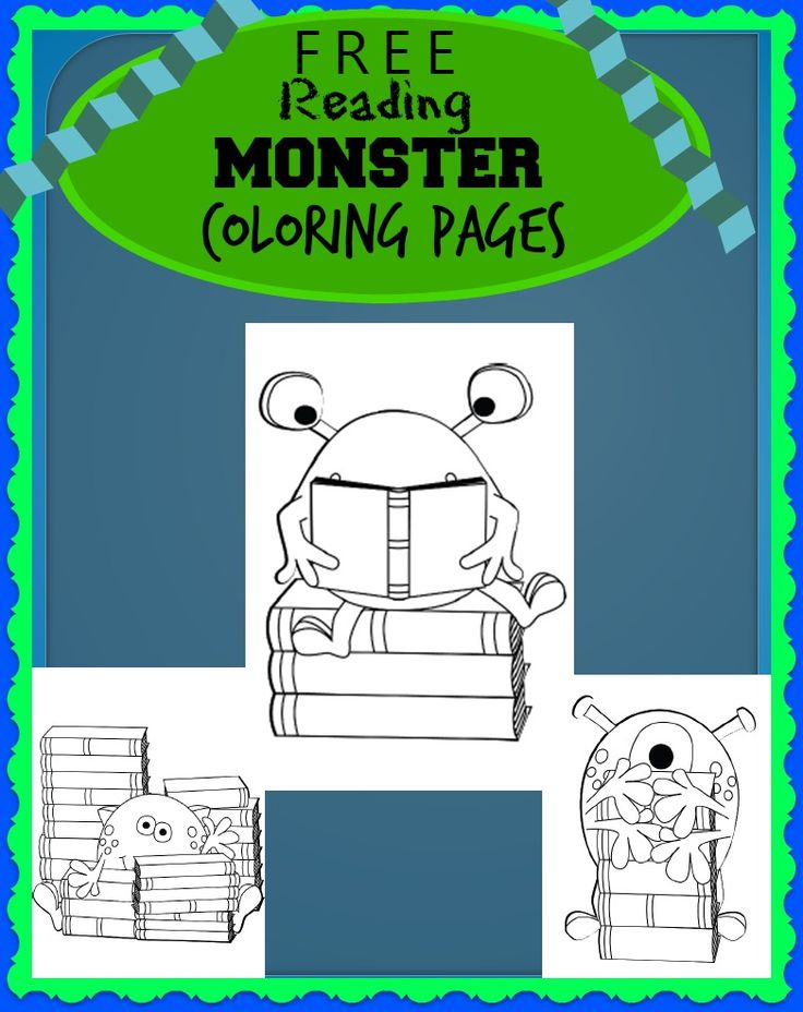 seven little monsters coloring pages - photo#19