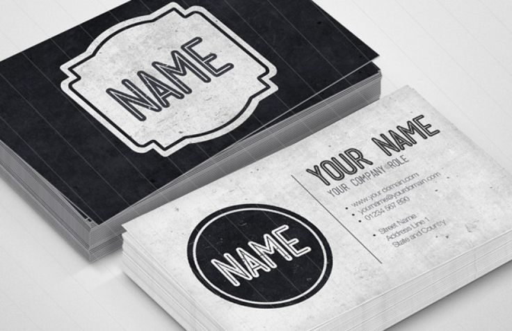 Medialoot - Vintage Grunge Business Card