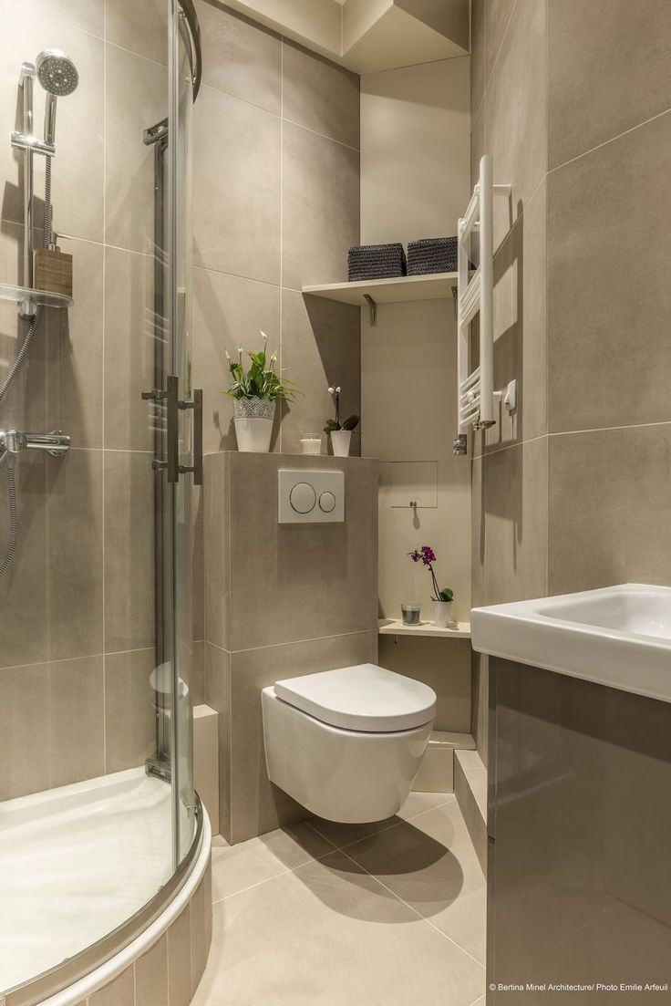 2949 best inspiration d co par c t maison images on pinterest - Salle de bain avec wc ...
