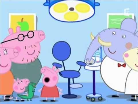 Peppa Pig français   Chez Le Dentiste