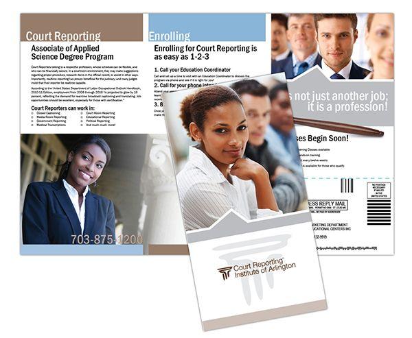 Brosur Sekolah - College Brochure Legal Field