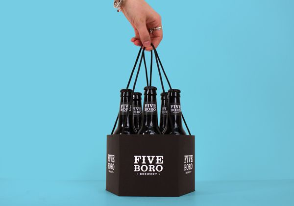 Five Boro Brewery on Behance