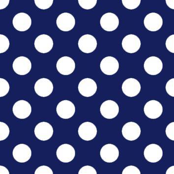 Pattern Sfondo Blu a Pois Bianchi