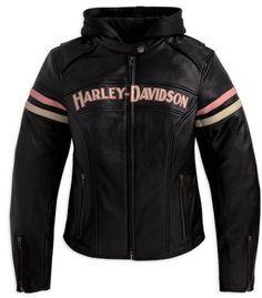 Harley Davidson Women's Leather Jacket 97038-11VW
