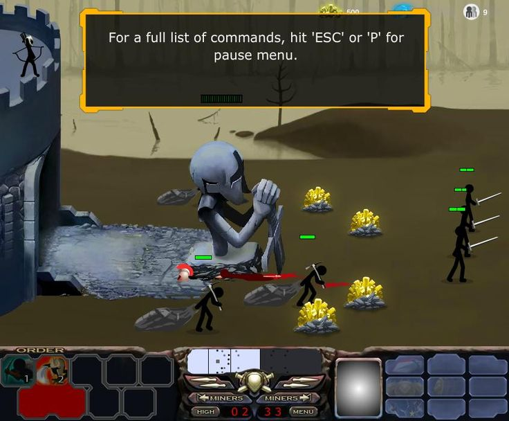 Play now Stick war is a new game website. Here you'll find fun and you will feel at home. Play and conquer territory now edygames.com. The best game you will found on this site!