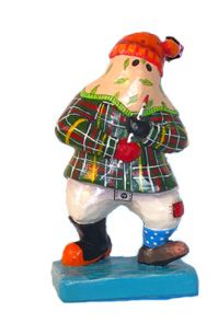 Lloyd from Lumsden, our newest limited edition mummer for Christmas from Mummers the Word.