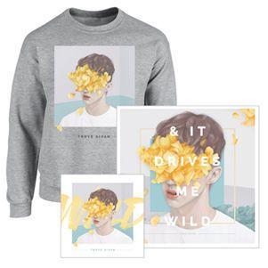 Troye Sivan - Wild CD Album + Art Print + Sweater