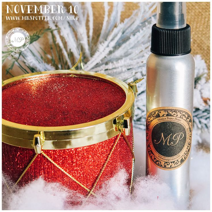 Capture the essence of the holidays with my new Winter Room Spray from Monica Potter Home. Available in Sparkling Snowflake, Spiced Cranberry, and Frosted Pinecone. #MonicaPotterHome