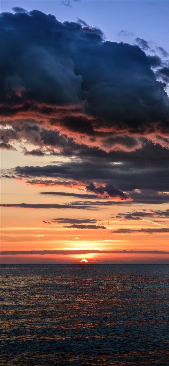Tropical Sunset Croatia Iphone X Wallpaper Sunset Iphone Wallpaper Sunset Wallpaper Nature