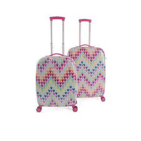 Maletas rígidas de Agatha Ruíz de la Prada. Más información y modelos en su tienda de maletas www.latiendademaletas.com y para este modelo, en la URL http://latiendademaletas.com/maletas-viaje/maletas-bolsas-viaje/maletas-rigidas-agatha-ruiz-de-la-prada-2-2/
