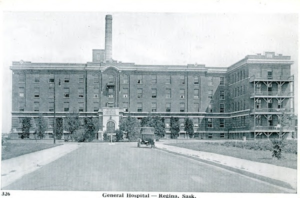 General Hospital, Regina, Saskatchewan | saskhistoryonline.ca