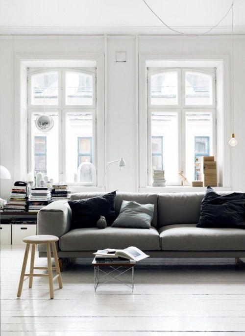 Mid Century Modern Interiors   Just A Bit of Grey