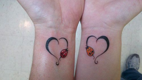 Mother Daughter tattoo...great idea for my daughter & me since she's always been my Bugga-Boo.