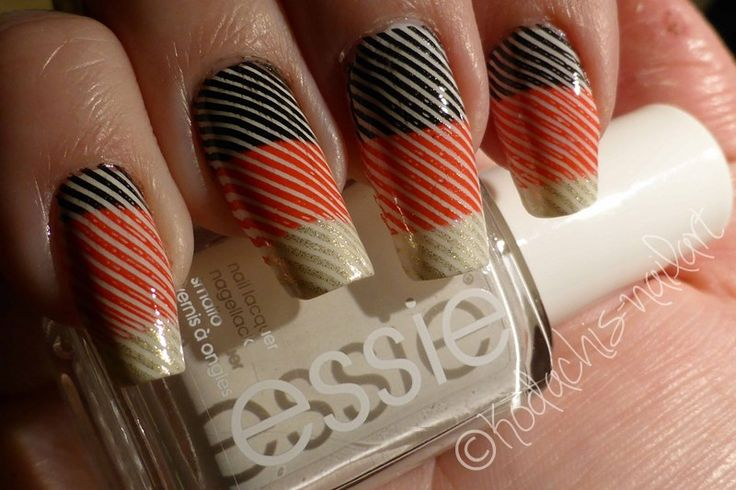Kodachis Nailart - #GERGIB Stamping with @essiede p2 and #moyoulondon