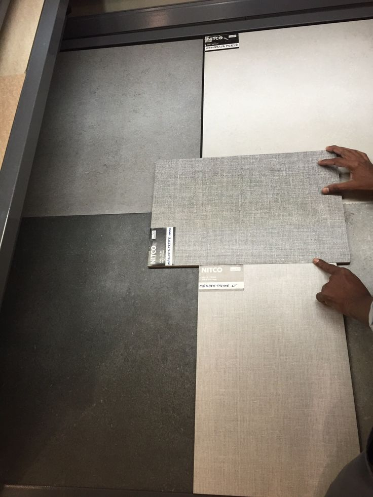 Potential Fabric Tile for Feature Wall, Or Grey or Madrid tile (Will not be yellowy)