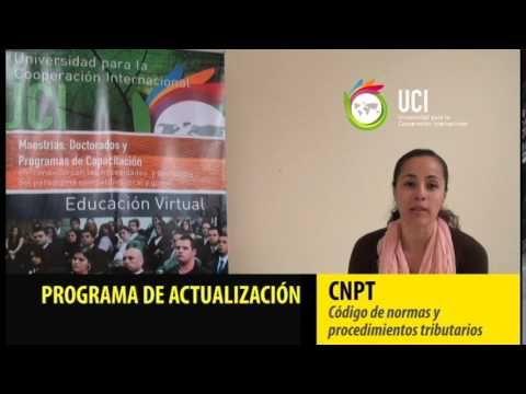 Recomendación de la Estudiante Monserrat Zamora egresada de la MAP - Código de normas y procedimientos tributarios (CNPT)
