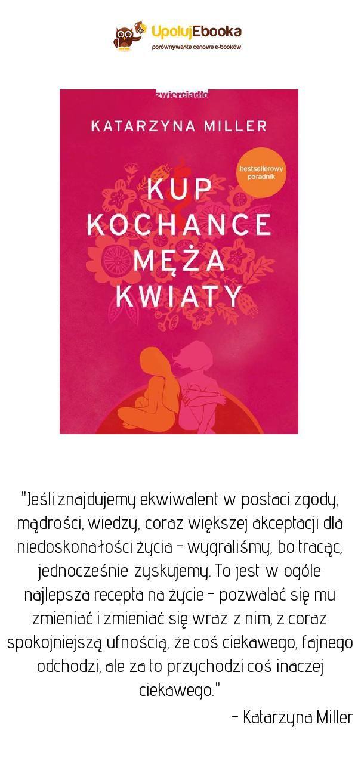 Kup Kochance Meza Kwiaty Katarzyna Miller Ebook Ksiazka Book Cover Books Cover