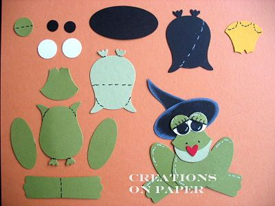 Creations on Paper: Fairytale Frogs - OWL PUNCH
