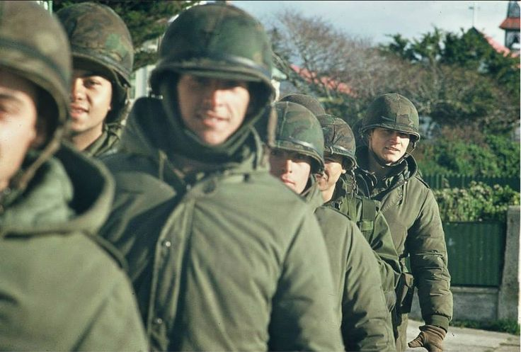 Ejército Argentino - abril/mayo 1982.