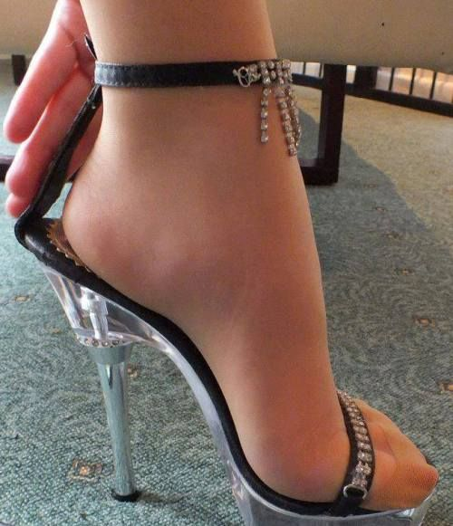 Women Trying On High Heels Candid