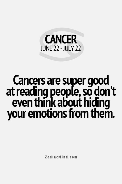Cancer Zodiac Fact ★