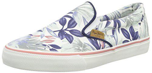 Pepe Jeans ALFORD JUNGLE Damen Sneakers - http://on-line-kaufen.de/pepe-jeans/pepe-jeans-alford-jungle-damen-sneakers