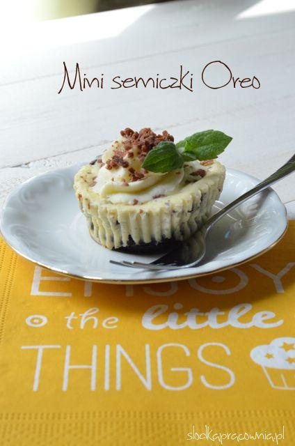 Mini serniczki z Oreo - przepis