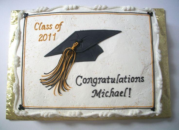 Easy Cake Decorating Ideas For Graduation : Simple Sheet Cake Design Ideas brenscakes@yahoo.com