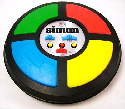 Simon game by Milton Bradley