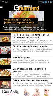 Vie Pratique Gourmand– Vignette de la capture d'écran