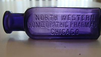 Purple Chicago Med North Western Homeopathic Pharmacy | eBay