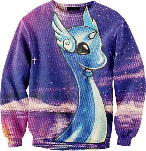 Dragonair sweater.. this is so dorky, but it's awesome XD