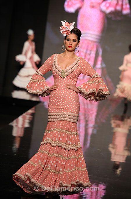 Fotografías Moda Flamenca - Simof 2013 - ARTE Y COMPÁS - Amanecer en primavera - Foto 04