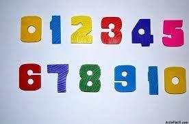 Resultado de imagen para numeros del uno al veinte para primero basico