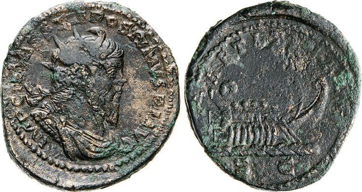 NumisBids: Numismatica Varesi s.a.s. Auction 65, Lot 258 : POSTUMO (259-268) Doppio Sesterzio, Augusta Treverorum. D/ Busto...