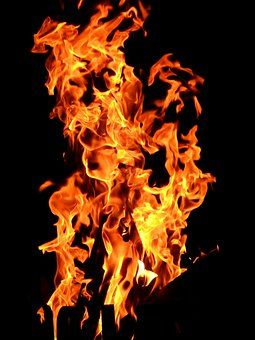 Tűz, Láng, Éget, Fa A Tűz, Forró