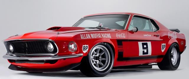 """The Allan Moffat Mustang"""
