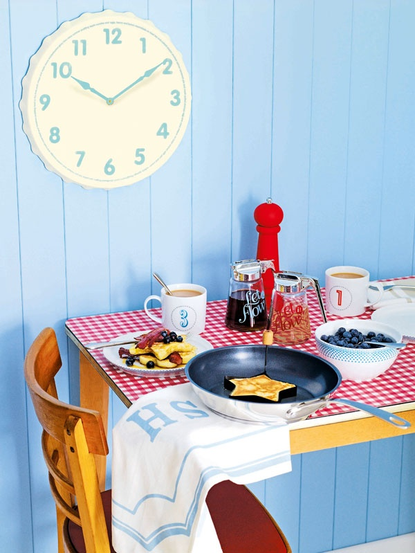 Here at Jamie at Home we have a fabulous range of products on offer from retro diner-style pourers for to fun shape makers which can be used when cooking pancakes, fried eggs or fishcakes!