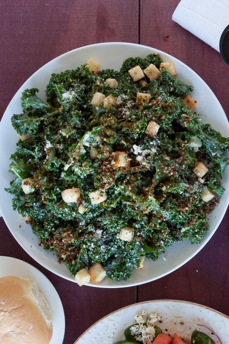 #Epicure Healthy #Kale Caesar Salad