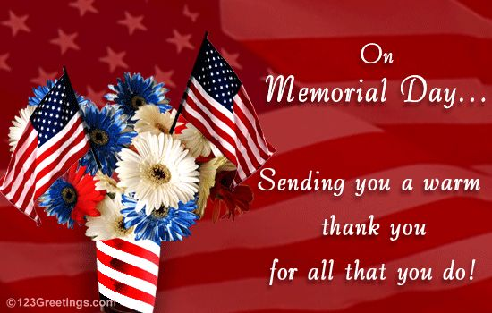 memorial day 2014 thank you