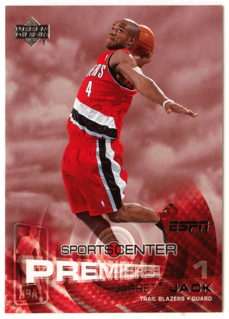 Jarrett Jack RC # 114 - 2005-06 Upper Deck ESPN Basketball NBA Rookie