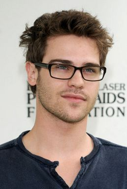 Grey Damon... Perfect... Adorable cute in glasses