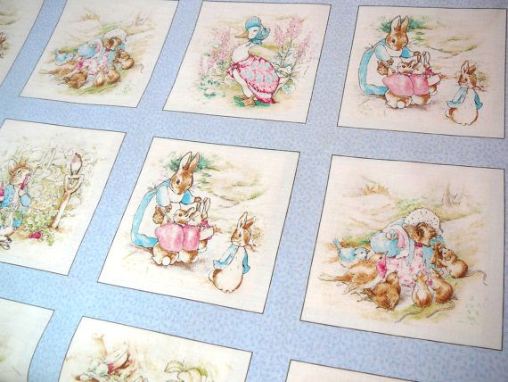 Best 25 Beatrix Potter Fabric Ideas On Pinterest